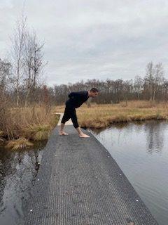 Hatha Yoga zijwaartse strekhouding