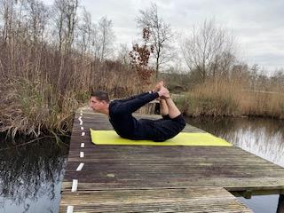 Hatha Yoga Boog houding
