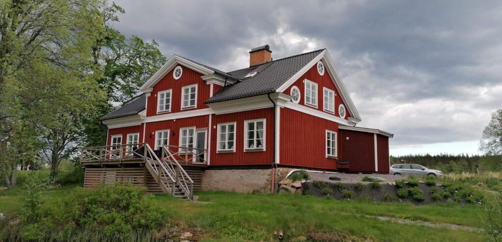 Zweeds huis laatste avond