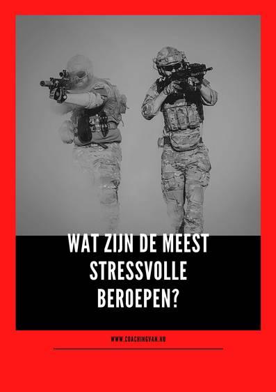 Wat zijn de meest stressvolle beroepen?