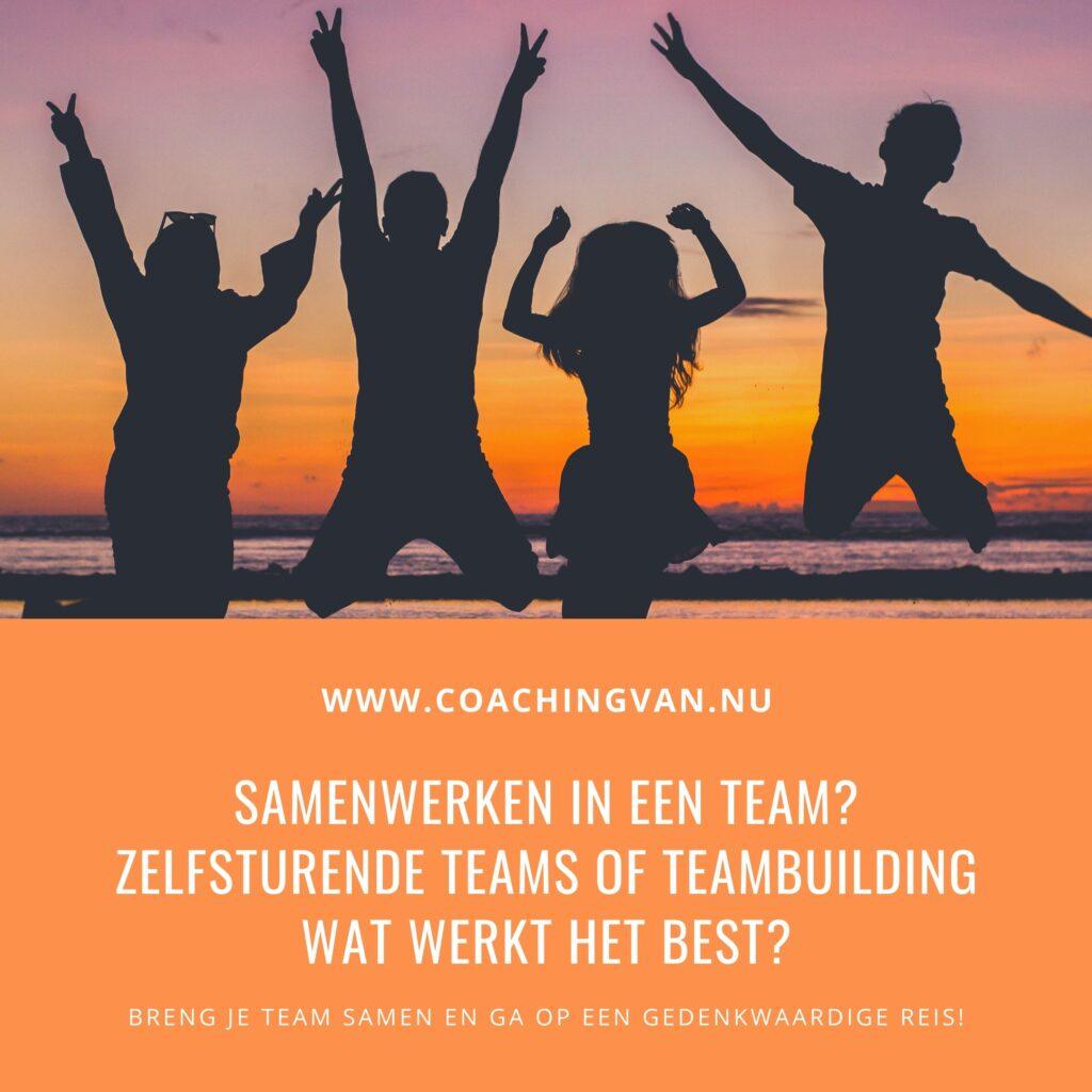 Samenwerken in een team? Zelfsturende teams of teambuilding wat werkt het best?