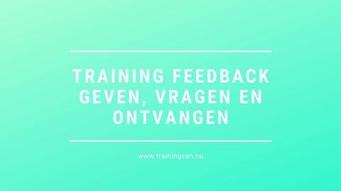 Durf jij deze effectieve feedback vragen te stellen??