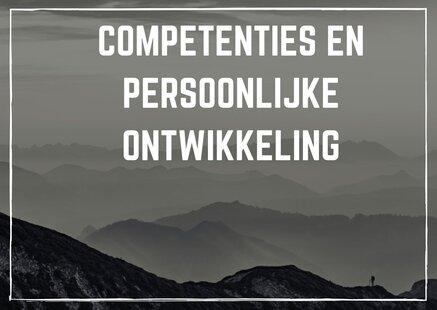 Competenties en persoonlijke ontwikkeling