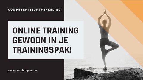 Online training gewoon in je trainingspak!